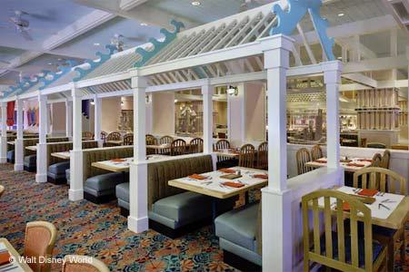 Cape May Cafe, Lake Buena Vista, FL