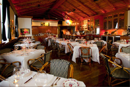 Wood-fired cooking is part of the experience at this Italian restaurant, along with one of Los Angeles' best wine lists.