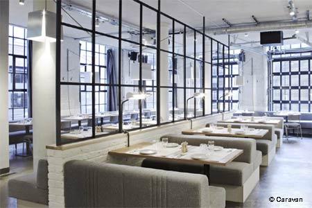Dining Room at Caravan, London,