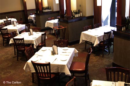 The Carlton is a business lunch and dinner mainstay.