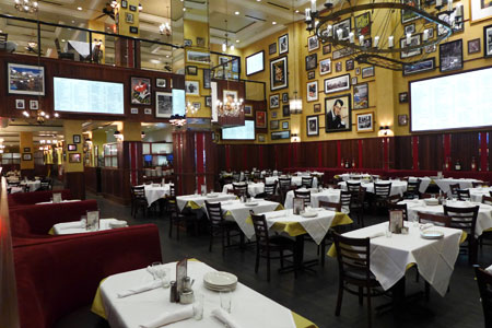 Dining room at Carmine's, Las Vegas, NV