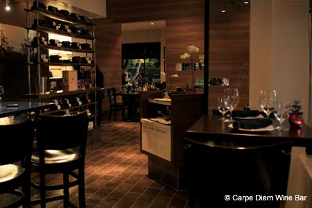 Carpe Diem Wine Bar, Napa, CA
