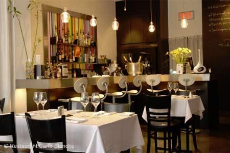 Restaurant Carte Blanche, Montréal, canada