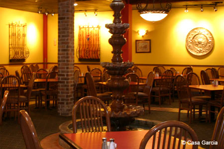 Dining Room at Casa Garcia, Metairie, LA