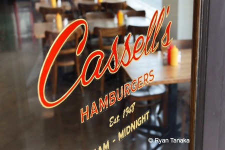 Cassell's Hamburgers has reopened at the newly restored Hotel Normandie