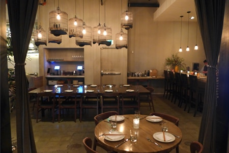 Dining Room at Cassia, Santa Monica, CA