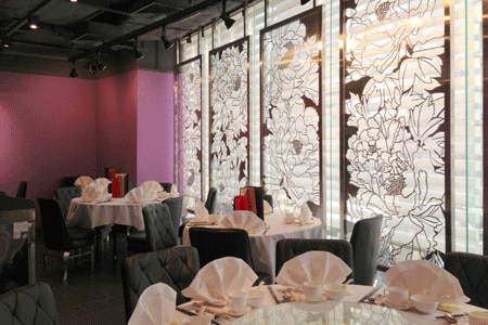 Dining room at Celebrity Cuisine, Central, hong-kong