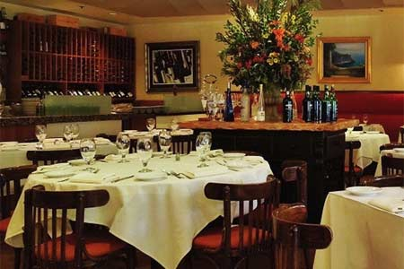 Dining Room at Celestino, Pasadena, CA