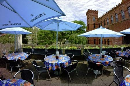 Centro is one of GAYOT's Best Outdoor Dining Restaurants in Greenwich, CT