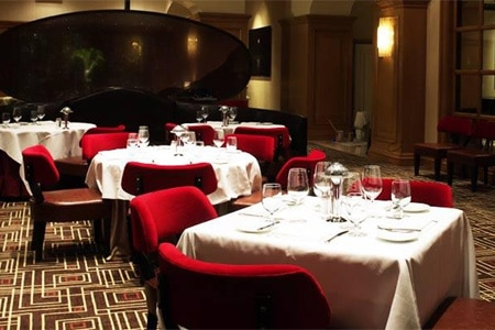Bring your appetite to this elegant Four Seasons Hotel Las Vegas restaurant, where the cuisine is served in hearty portions.