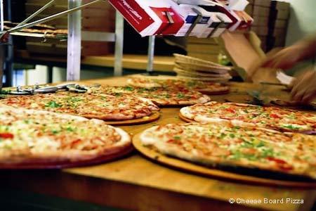 Cheese Board Pizza, Berkeley, CA