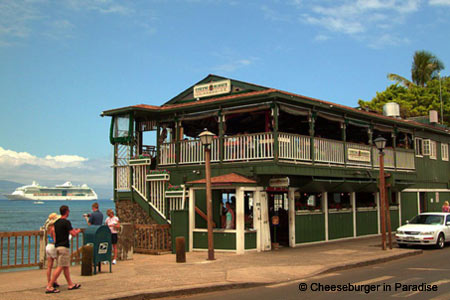 Cheeseburger in Paradise, Lahaina, HI