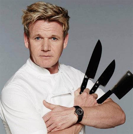Chef-TV personality Gordon Ramsay will open Gordon Ramsay Hell's Kitchen in Las Vegas
