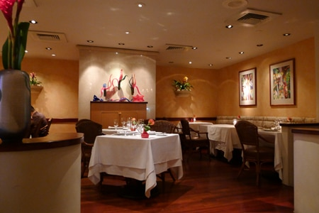 Dining room at Chef Mavro, Honolulu, HI