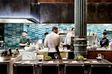 Chefs Club by FOOD & WINE features a band of rotating chefs