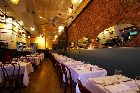 Dining Room at Chez Lucienne, New York, NY