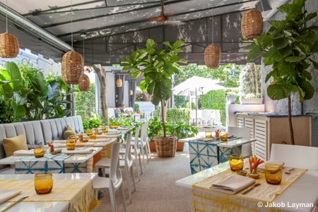 Chi Chi is one of the Best Outdoor Dining Restaurants in Palm Springs