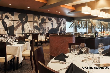 Dining Room at Chima Steakhouse, Fort Lauderdale, FL