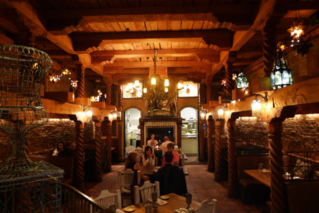 Dining room at Chimayo, Park City, UT