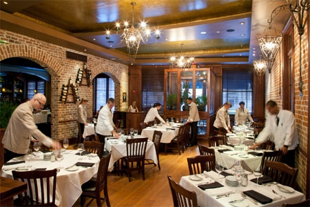 Dining Room at Chophouse New Orleans, New Orleans, LA