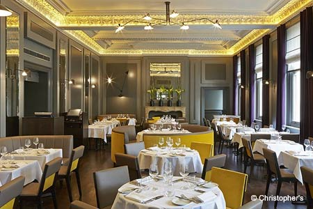Enjoy a special Easter brunch at Christopher's Restaurant in London