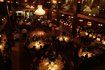 Dining Room at Cicada, Los Angeles, CA