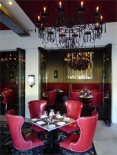 Dining room at Circa 59, Palm Springs, CA