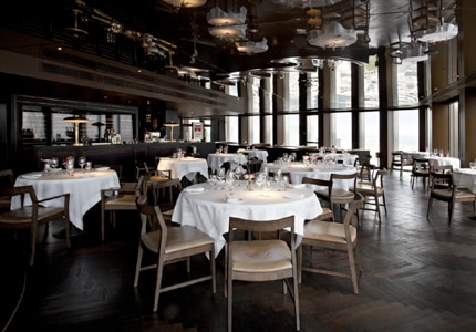 Enjoy Modern British cuisine in handsome surroundings at City Social restaurant in London