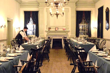 Colonial culinary history comes alive in the shadow of Independence National Historical Park.