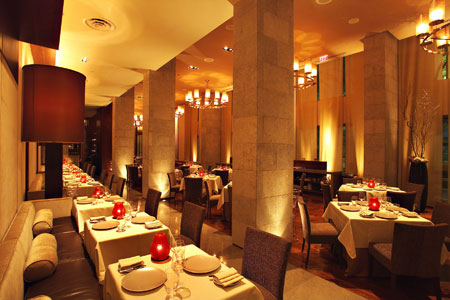 Enjoy a special meal at CityZen, one of the Top 10 Romantic Restaurants in Washington DC Area