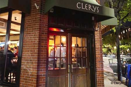 Dining Room at Clerys, Boston, MA