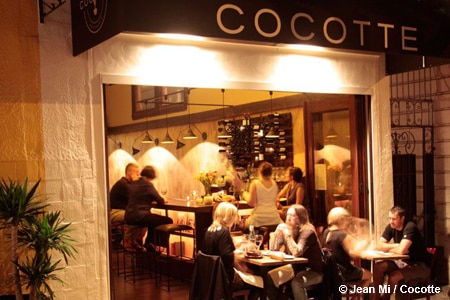 Dining Room at Cocotte, San Francisco, CA