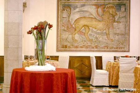 Taverna Colleoni dell'Angelo, Bergamo, italy