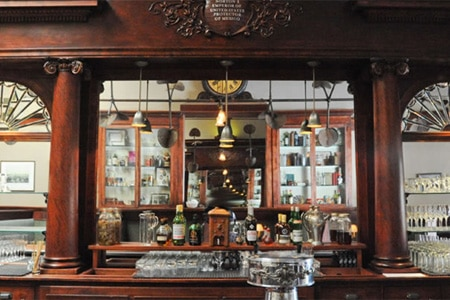 Dining room at Comstock Saloon, San Francisco, CA