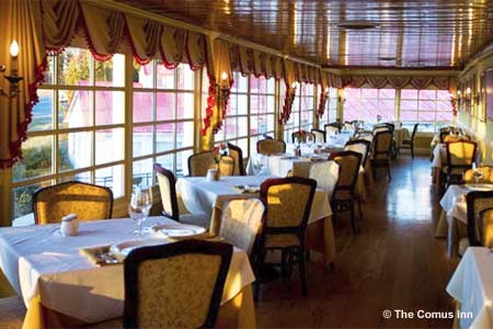 Enjoy a special Easter brunch at The Comus Inn at Sugarloaf Mountain in Dickerson, Maryland
