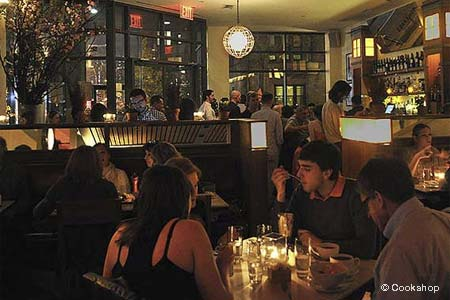 Dining Room at Cookshop, New York, NY