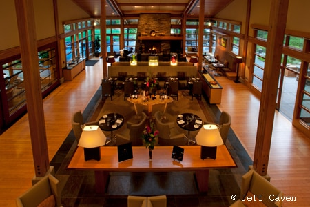 Dining room at Copperleaf Restaurant, Seattle, WA