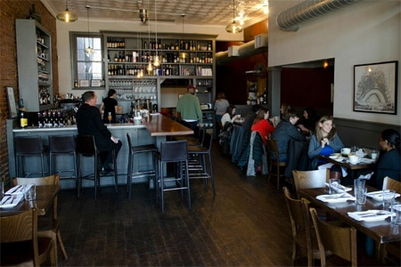 Wine and dine in Cork Wine Bar, a hip Washington DC eatery