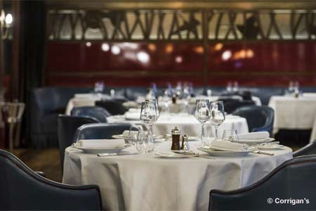 Corrigan's Mayfair, one of GAYOT's Top 10 British Cuisine Restaurants in London