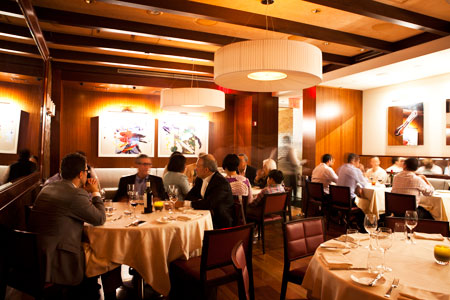 Dining room at Costata, New York, NY