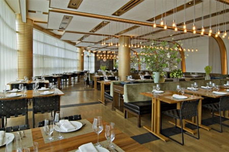 Dining room at Craft Los Angeles, Los Angeles, CA