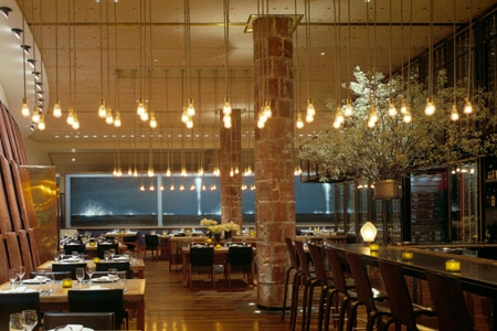 Dining room at Craft, New York, NY