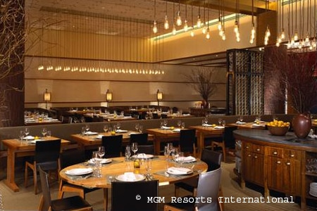 Dining Room at Tom Colicchio's Craftsteak, Las Vegas, NV