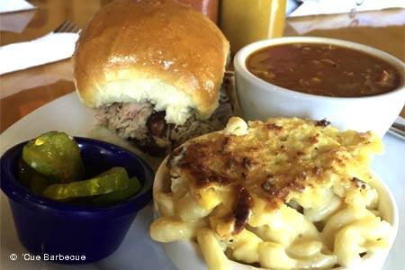 'Cue Barbecue, Milton, GA