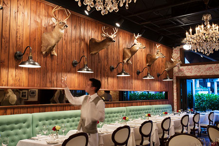 Dining room at The Cypress Room, Miami, FL