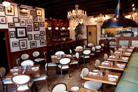 Dining Room at Cypress Tavern, Miami, FL