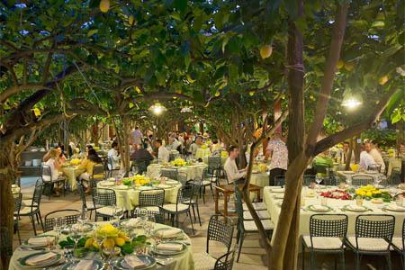 Da Paolino Lemon Trees Restaurant, Capri, italy