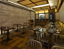 Dining room at Dassara, Brooklyn, NY