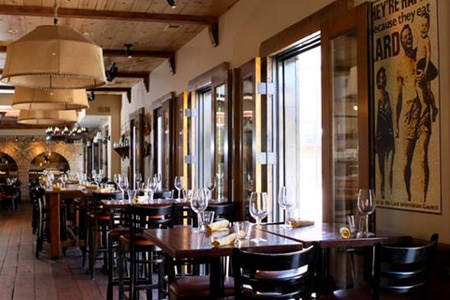 Dining Room at Davanti Enoteca, Chicago, IL