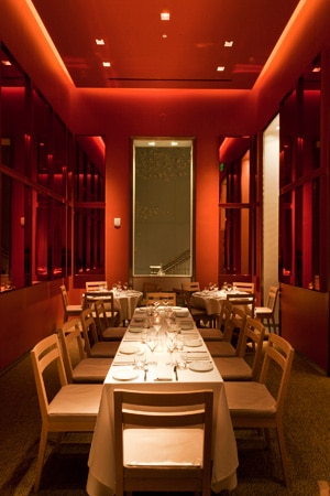 Dining room at db bistro moderne, Miami, FL